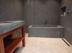 MurDekor AS, Marmorpuss, betonglook, microcement, mur og Betong   Bilder før og etter