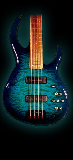 James Tyler Guitars Bass Caribbean Splash