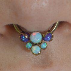 Opal septum ring CUTE