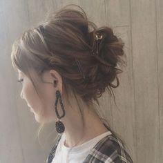 アラサー向きの万能ヘア♡こなれも上品もおまかせなシニヨンアレンジ - LOCARI(ロカリ) Hair Knot, Bun Hairstyles, Hair Inspo, Curls, Dreadlocks, Hair Styles, Makeup, Beauty, Knots
