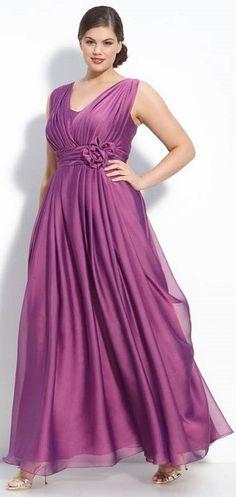 292 vestido para mãe da noiva longo rose