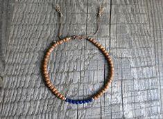 Ruby Bracelet, Wood Bracelet, Gemstone Bracelets, Bracelets For Men, Yoga Jewelry, Adjustable Bracelet, Silver Beads, Beaded Necklace, Gemstones