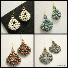 Beading by Beth: Beth Duo Tutorial