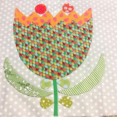 Sarah Fielke Quilts, Rabbit Hole, Applique Quilts, Tulip, Fabric, Instagram, Tejido, Tela, Tulips