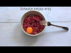 Lekker recept voor een Amerikaanse hamburger + video!