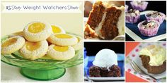 15 Sweet Weight Watchers Treats from around the internet.
