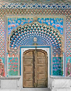 Door of Shiva    India, Jaipur, City Palace, 18th century