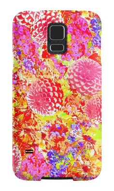 Daisies For Mum Samsung Phone Case by PolkaDotStudio, #new #photographic #collage #floral #mums #daisies #flower #garden of #art on #phone #cases #Samsung and #iPhone versions available. Great #fashion #tech #accessory for #home #school #office or special #gift.