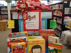 Chinese New Year Book Display by lindenhurst memorial library ny, via Flickr