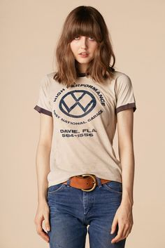 70's VW Ringer Tee from @stonedvintage