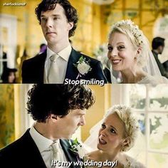 God I love Mary. Disagree all you want but I think she complements john and Sherlock perfectly