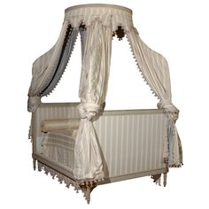 canopy bed. Great for spare bedroom...