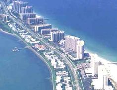 """Sand Key Beach is just south of Clearwater, Florida. My grandfather owned a condo in the center """"pink"""" towers..it was so beautiful!"""