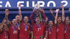 Ogromny sukces Cristiano Ronaldo i jego kolegów z reprezentacji • Portugalia została Mistrzem Europy! • Francja Portugalia Euro 2016 >> #portugal #euro #football #soccer #sports #pilkanozna