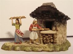 Resultado de imagen de puestos para mercados+belenes Christmas Nativity Scene, Christmas Villages, Nativity Stable, Diy And Crafts, Arts And Crafts, House Template, 1980s Toys, Quilling Cards, Miniture Things