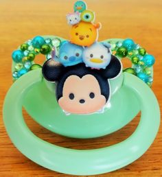 PAYMENT INFO: If you are struggling to get your payment to process, please contact me, as some cards will not process international transactions. If this is the case, I can invoice you through PayPal, or set up a listing on Etsy :)  A BabyPants branded NUK6 equivalent pacifier, decorated with a Tsu
