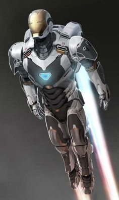 Iron Man 3 space armor concept art