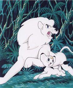 Anime Art Illustration Print By Osamu Tezuka: King of the Jungle Harp Seal Pup, Kimba The White Lion, Furry Pics, Anime Comics, Vocaloid, Art Inspo, Game Art, Comic Art, Manga Anime