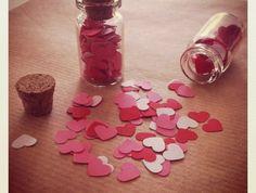 Confetti Capsules - Hearts