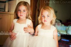 Flower Girl Dress Natural Cotton by OliviaKateCouture on Etsy, $89.95  Dress for Leila