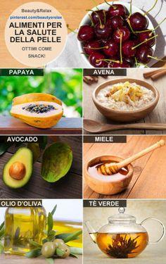 Alimenti per la salute della pelle