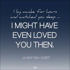 Christian Grey, everybody ... a.k.a. a big softy!
