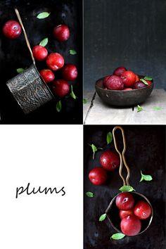 Presh plums, summer stone fruit