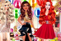 Em Moana Festa de Aniversário com as Princesas, Moana está fazendo aniversário, ela está completando 16 anos. Moana está muito animada porque vai ganhar uma super festa de aniversário. Todas as princesas irão para sua festa, principalmente suas melhores amigas: Elsa e Ariel. Princess Games, Disney Princess, Rapunzel, Ariel, Moana, Online Games, Elsa, Snow White, Have Fun