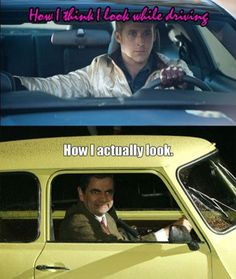 expectations vs reality driving