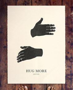 Sunday, hug day. #love