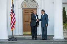 """Donald Trump, Rival Mitt Romney Have 'Great' Meeting as Trump Races to Fill Cabinet   Meridian Magazine - LDSmag.com   Mitt Romney emerged smiling Saturday from a closed-door meeting with President-elect Donald Trump — a face-to-face sit down he called """"thorough and in-depth"""" after they traded bitter barbs with one another during a divisive election."""