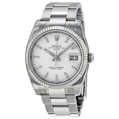 The Rolex Oyster Perpetual Date White Dial. Time to Find the Best Watches for Men http://time-in-our-hands.com