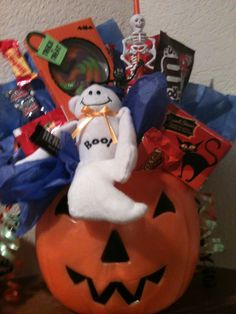 Halloween Candy Bouquet $20.00