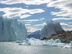Les glaciers de Patagonie