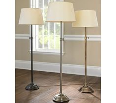 Buy Pottery Barn Chelsea Floor Lamp Base Online from Pottery Barn Saudi Arabia in Jeddah, Riyadh. Experience online shopping with a wide range of Floor Lamps and Enjoy ✓ Free Delivery on orders over SAR 99 ✓ Easy returns ✓ Click & Collect KSA Best Desk Lamp, Lamp, Floor Lamp Base, Beautiful Lamp, Lamp Bases, Wall Lamp, Pottery Barn Floor Lamps, Flooring, Standing Lamp
