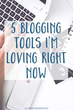 There are so many amazing blogging tools available - how do you know where to start? These are the 5 blogging tools I have been using and absolutely love. Each will help you to grow your blog, increase your audience, grow your social media and increase traffic to your blog in some way.