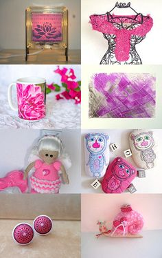 Pink Love by Elaine on Etsy--Pinned with TreasuryPin.com