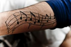 115 Music Notes Tattoos for the Music Lovers