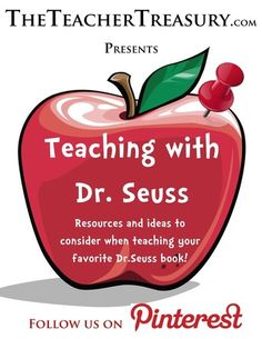 Hundreds of resources and ideas to consider when teaching your favorite Dr. Seuss book!