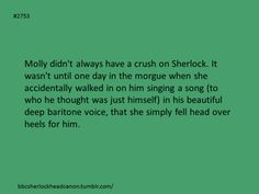 I think we all would've fallen for that! Benedict/Sherlock has an absolutely amazing singing voice! He needs to sing at some point in Series 3.