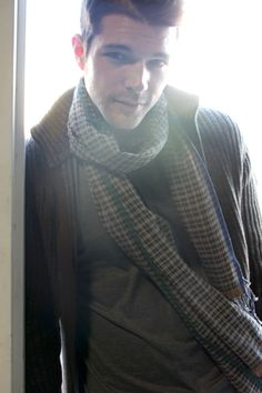 Men's Tokyo Tricolor Checkered Natural Cotton Fashion Scarf (Brown) at Amazon Men's Clothing store: check scarf, brown scarf, brown check, mens fashion, trendy scarves, modern scarves, cotton scarf, classic scarves