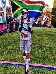 Trail runner Ryan Sandes Wins TNF100.