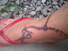 Image detail for -Hairdressers tattoo tattoo