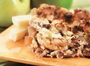Apple cinnamon strata, looks delish