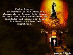 3 Hail Marys: imagenen con oracion para las almas del purgatorio...