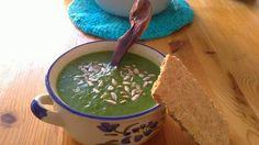 D.I.Y. VEGÁNSKA KUCHÁRKA: Raw špenátovo - avokádová polievka