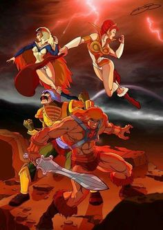 He-Man And The Masters Of The Universe.