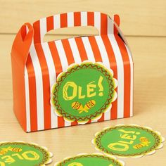 FREE Cinco De Mayo Ole! Printables via Kara's Party Ideas Shop!
