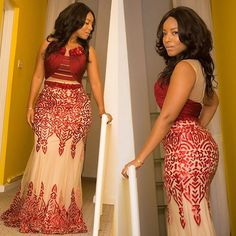 A Lush Affair! Wedding Guests' Show-Stopping Styles Which are Sure to Turn Heads - Wedding Digest Naija African Attire, African Wear, African Dress, African Fashion, Aso Ebi Styles, Ankara Styles, Wedding Guest Style, Wedding Styles, Naija