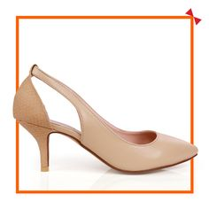 Nude needn't mean boring #INTOTOs #Shoes #NudePumps #Beige #ClassicStyle